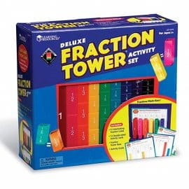 DELUXE FRACTION TOWER SET PLUS ACTIVITY GUIDE