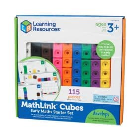 MATHLINK CUBES ACTIVITY (Early Maths Starter Set)